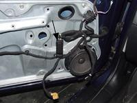 VW Golf IV TDI Brak elektrycznych lusterek, szyb...