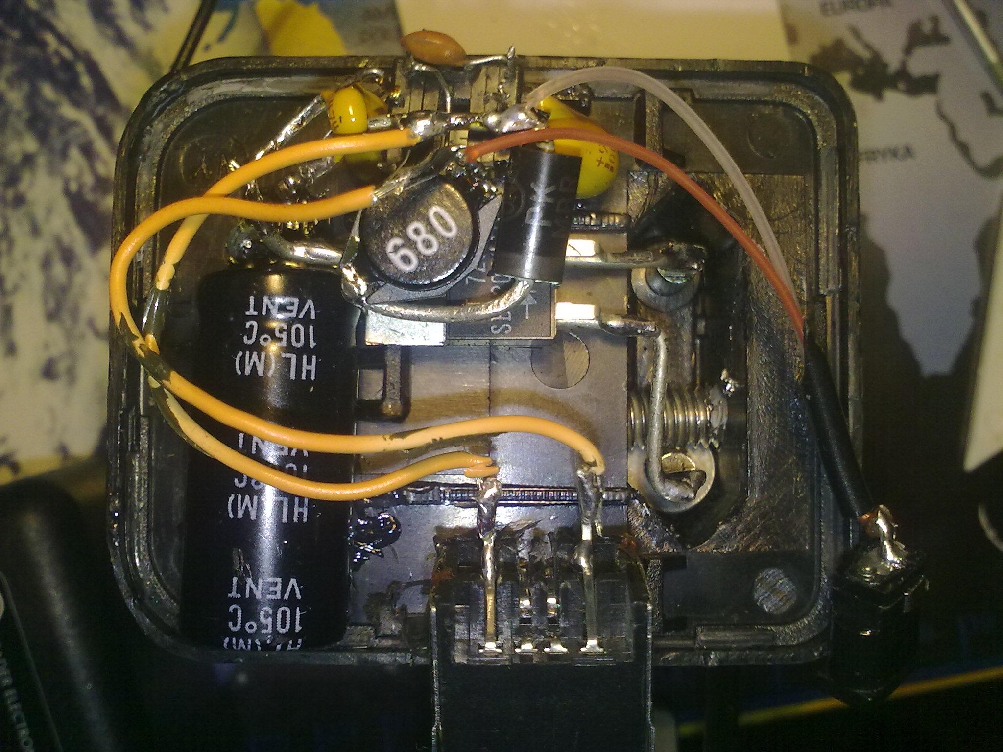 Rowerowa ładowarka Zasilacz USB 2 elektroda.pl