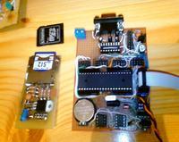 Rejestrator temperatury z obsługą kart SD