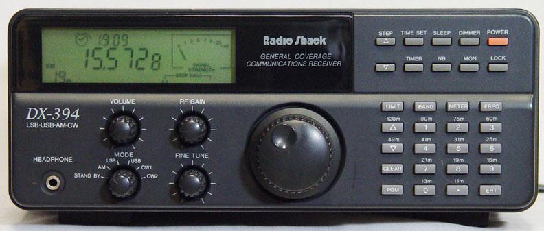 Realistic DX-394, DX349 Instrukcja EN