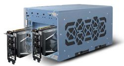 Nuvo-8208GC - przemysłowy komputer typu embedded z Xeon E-2278E