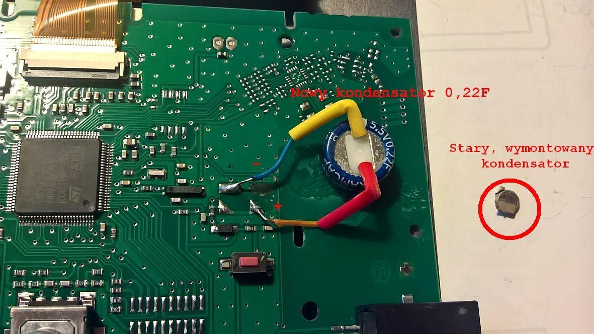 Vaillant Calormatic 470 - Podtrzymywanie zegara,wymiana baterii?
