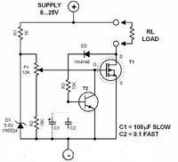 Ogranicznik prądu w zasilaczu