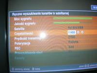 Cyfrowy Polsat HD5000 - Odbiór programów z dwóch satelit