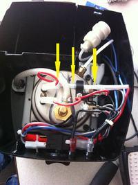 EC155 Delonghi - przerobienie z 110V na 230V