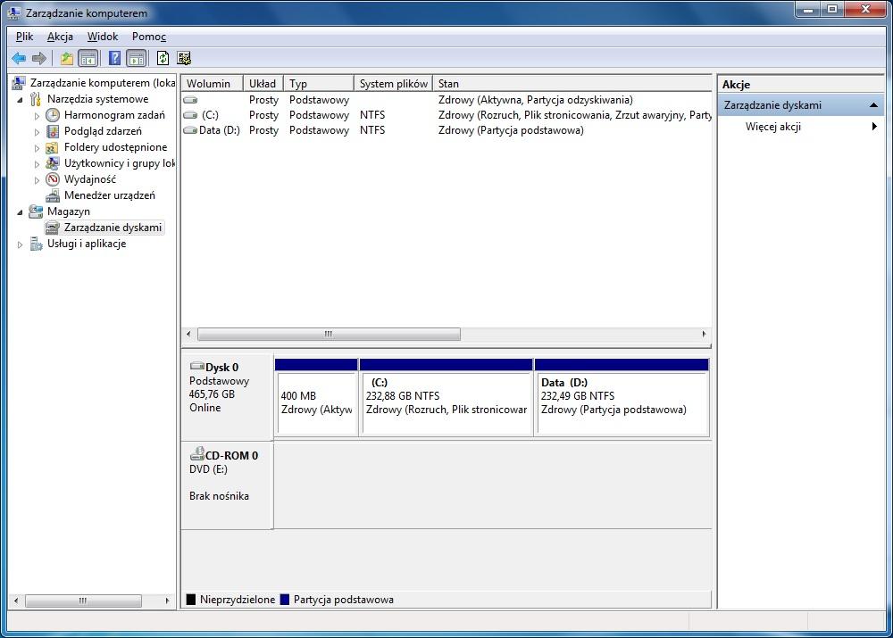 Toshiba L500-1Q9 - Przywr�cenie Windows 7 64-bit za pomoc� Toshiba HDD Recovery