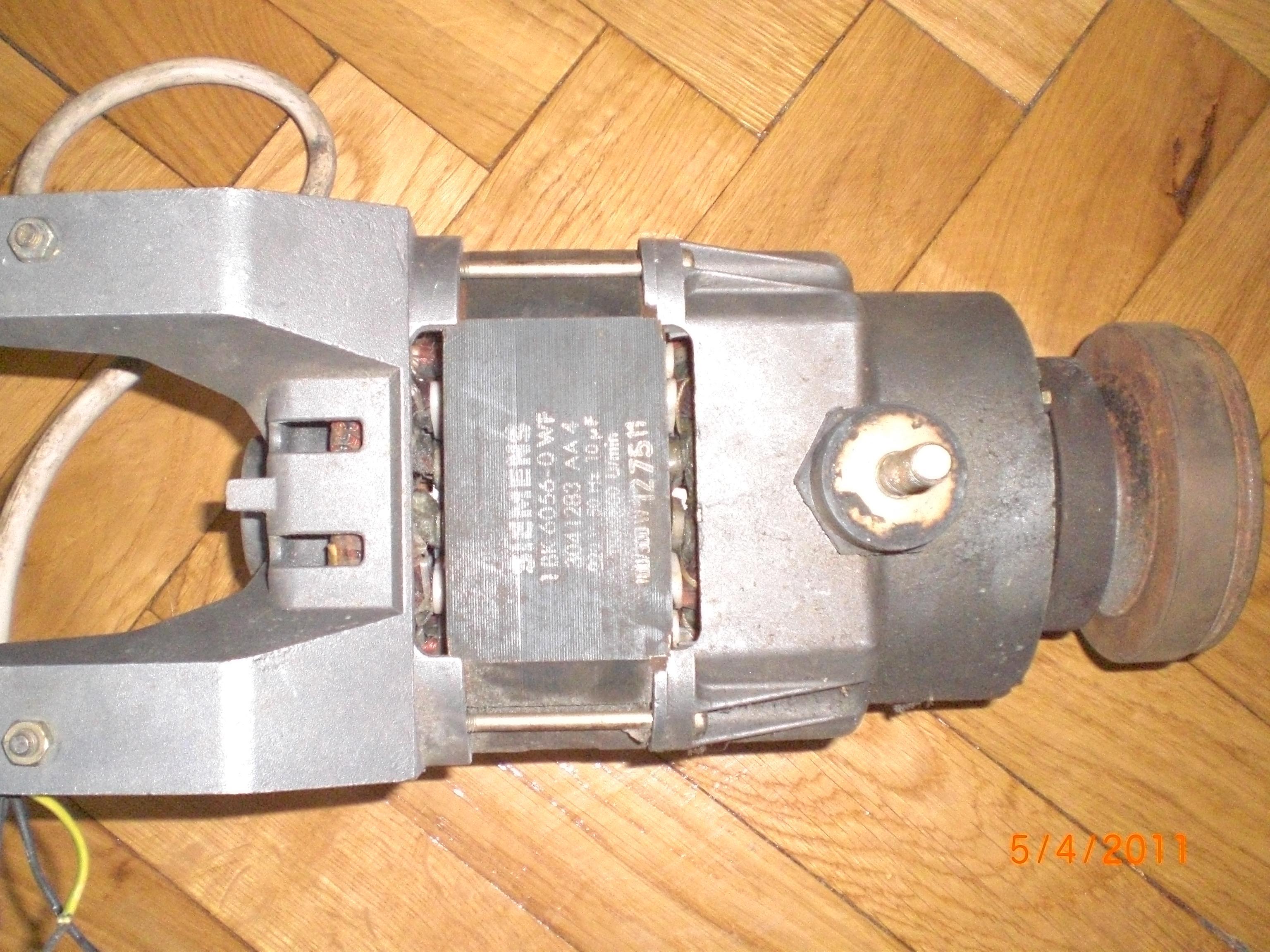 Silnik pralki SIEMENS jak pod��czy� pod 230V