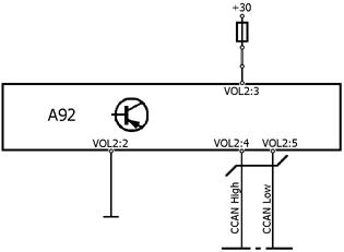 Volvo b7l - B��d chassis mid 164 psid 012 fmi 12