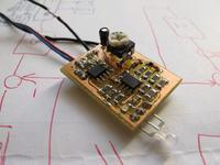 1-LEDowy wskaźnik wysterowania - moduł
