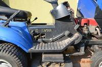 Traktor Castel Garden TCP102 Hydro - stoppt bei der Rückfahrt