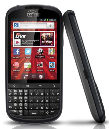 Virgin wprowadza Alcatel One Touch Venture QWERTY - smartfon z Androidem 2.3