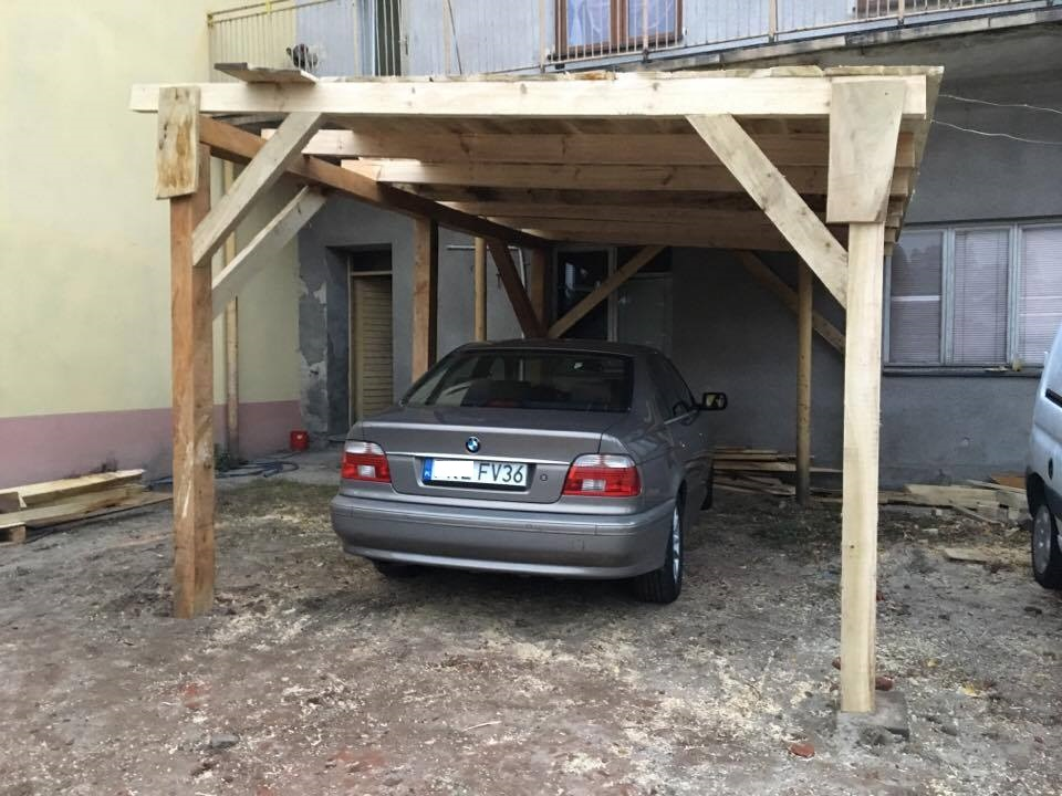 Inteligentny Plandeka na wiatę garażową - elektroda.pl CB47