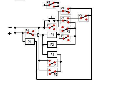 Starowanie przekaźnikiem przyciskiem - bez elektroniki