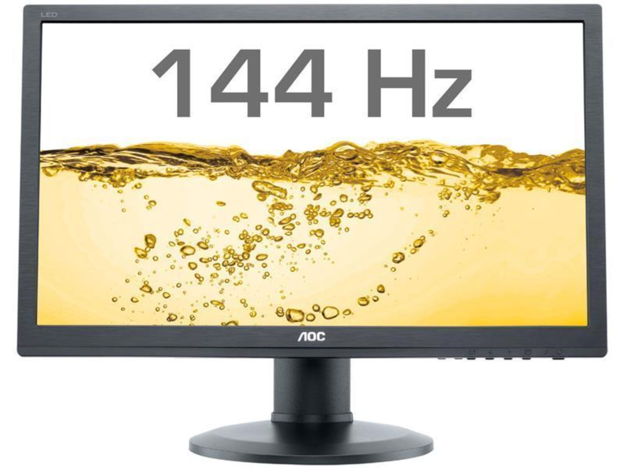 AOC G2460FQ - 24-calowy monitor Full HD, TN, 144Hz, 1ms
