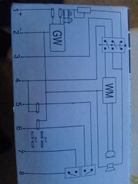 Podłączenie domofonu Unifon TK6 -> 6-cio żyłowy przewód