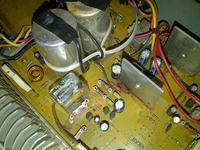 Pioneer SA-710DC - Przy włączeniu dziwny szum, ogromne skoki membrany.