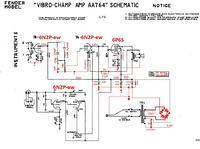 Fender vibrochamp - ustawienie punktu pracy lampy tremolo