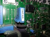 electrolux wascator w3105h - falownik padl