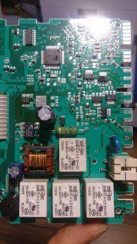 Bosch SGV45M23EP/75 - Spalona płyta modułu, zmywarka bez oznak życia