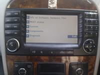 NTG1 UPDATE Mercedes Benz W220 320i polskie menu