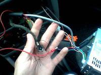 Przejściówka do radia JVC w Peugeot 206