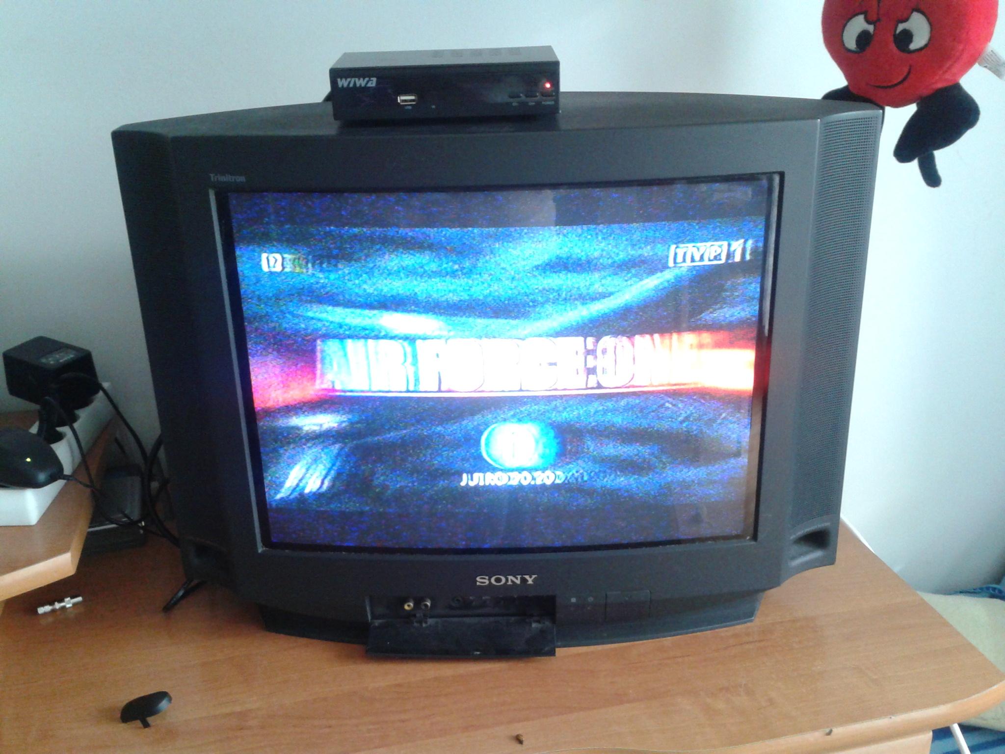 Brak sygna�u - cyfrowa telewizja naziemna.