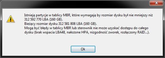 B��d danych CRC dysku - windows chce formatowa�.