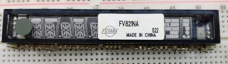Wyświetlacze VFD to nic strasznego. Część 2. Identyfikacja i uruchamianie