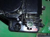 Briggs 35 classic - usunięcie oleju z cylindra