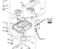 Zestaw Panasonic SA-PM29 - Wymiana zespołu głowicy lasera