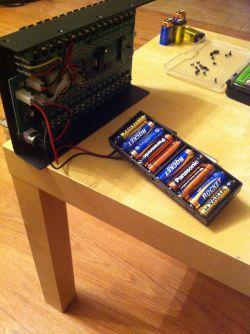 Grzejąca się bateria w systemie