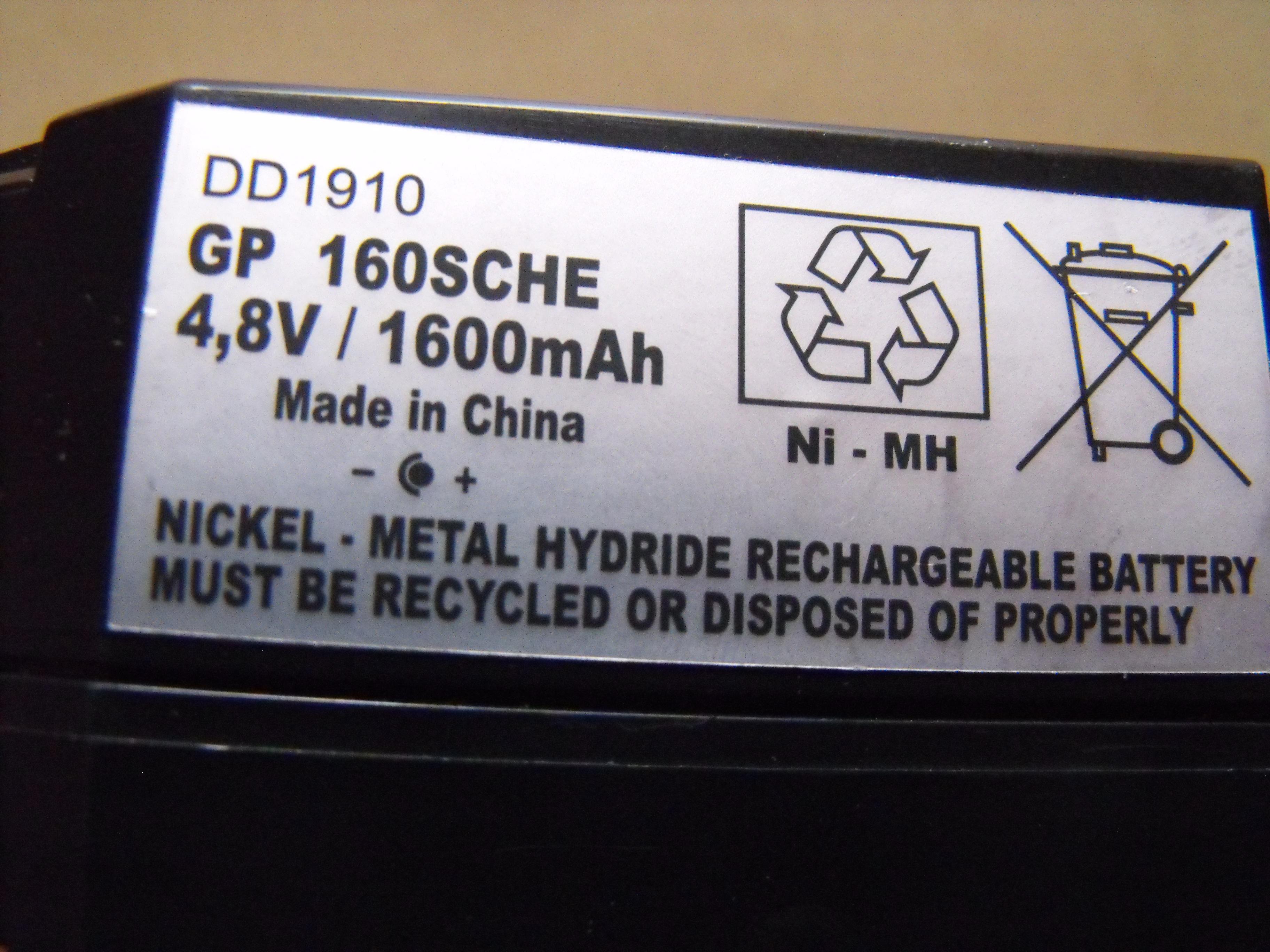 Czym na�adowa� akumulator 4.8V 1600mah