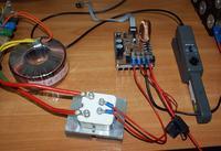 Impulsowa ładowarka baterii superkondensatorów