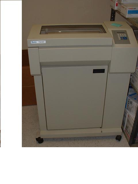 Czy kto� ma dzia�aj�ca drukark� ig�ow�?