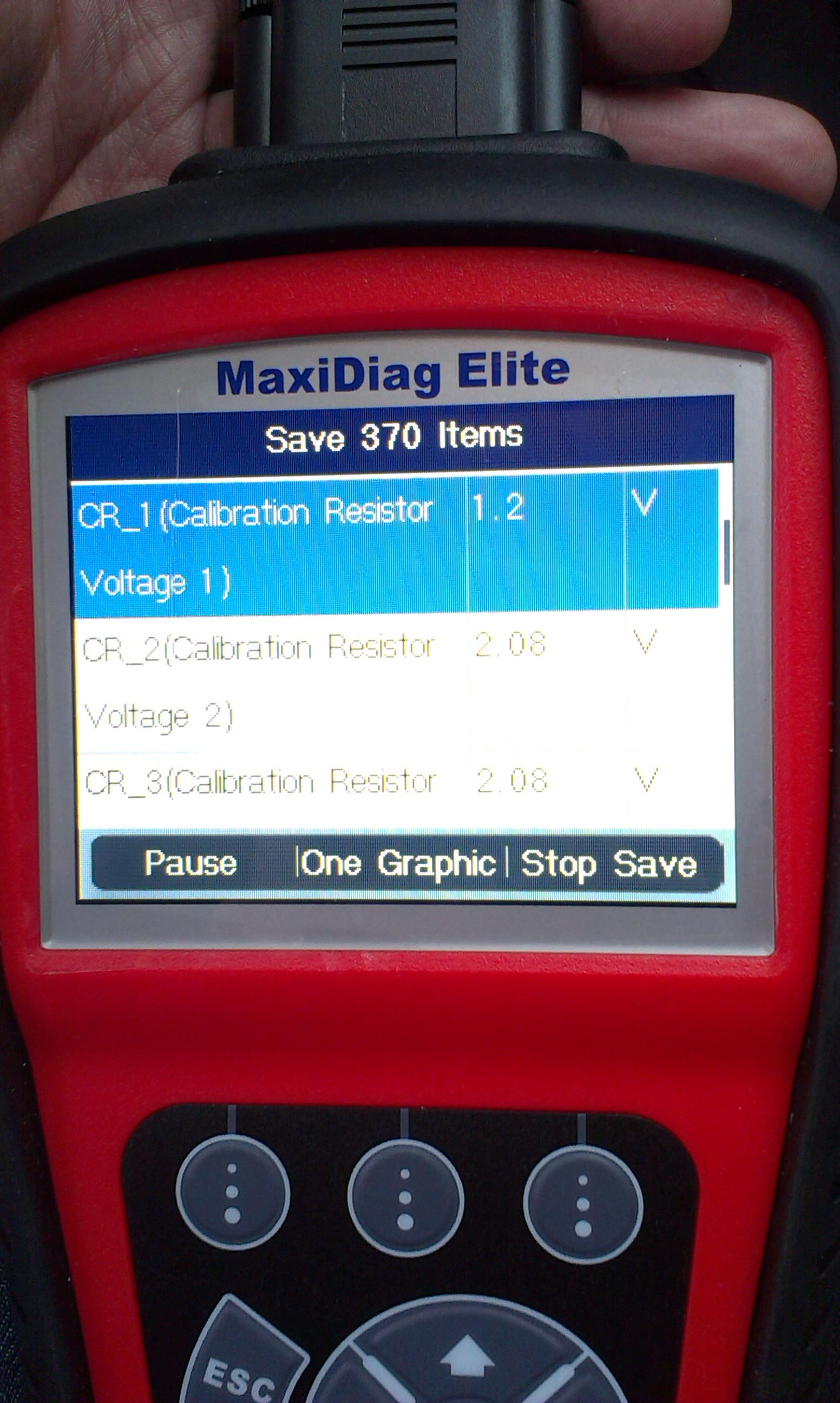 MAZDA MPV 2003rok 2.0 diesel - napi�cie na rezystorach wtryskiwaczy