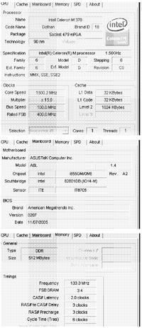 Intel® 855GM/GME Chipset jaki procesor mogę dobrać?