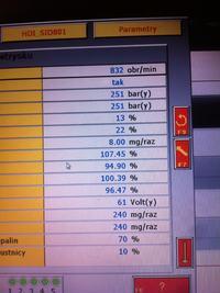 Citroen 2.0 90km 2004 siemens - Ocena wtrysków i ciśnienia