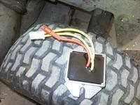 Traktorek Honda - Brak ładowania ...