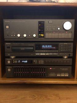 [Sprzedam]Technics zestaw SU-V6X, ST-G5//SH-Z20, CD SL-PG400A