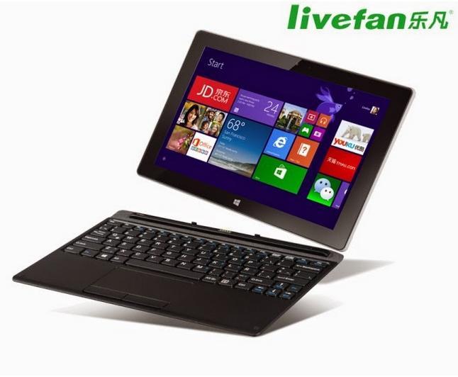 """Livefan F3S - tablet 10,1"""" ekranem, 4-rdzeniowym Atom i Windows 8.1"""