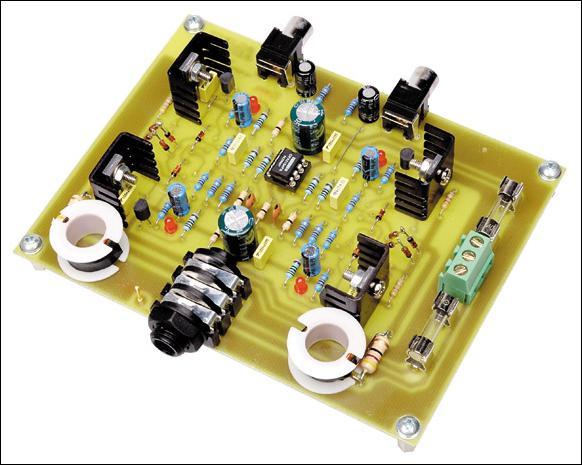 Studyjny Wzmacniacz Słuchawkowy Elektroda Pl