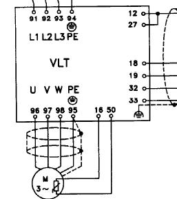 Falownik Danfoss VLT 3000