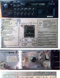 Blaupunkt - zablokowane radio i w��czaj� si� �wiat�a postojowe