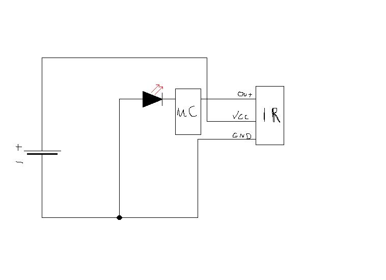 problem TSOP2236 i Atmega8