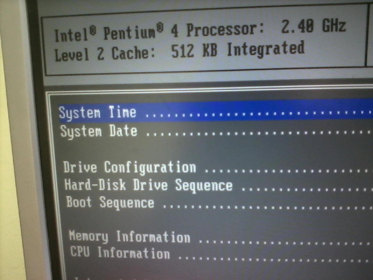 Dell Gx280 wyskakuje b��d