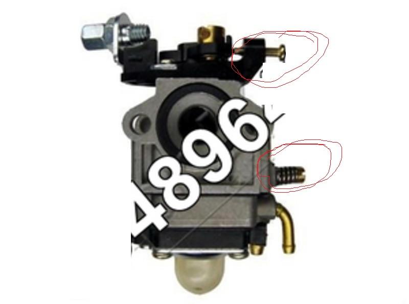 Power March CG-430 - Nie odpala, otwarta klapka wlotu powietrza