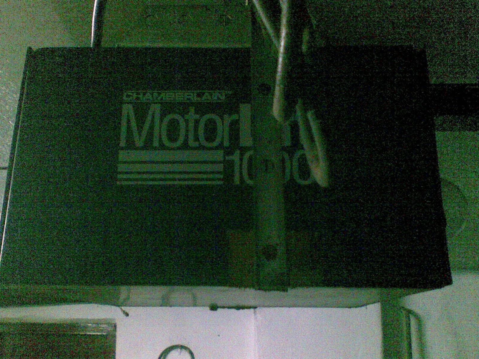 motor lift 1000 - zast�pczy pilot lub pod��czenie radiolini