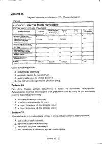 Egzamin Zawodowy Technik Informatyk Przedsiębiorczość 2011 czerwiec 13 Arkusz X