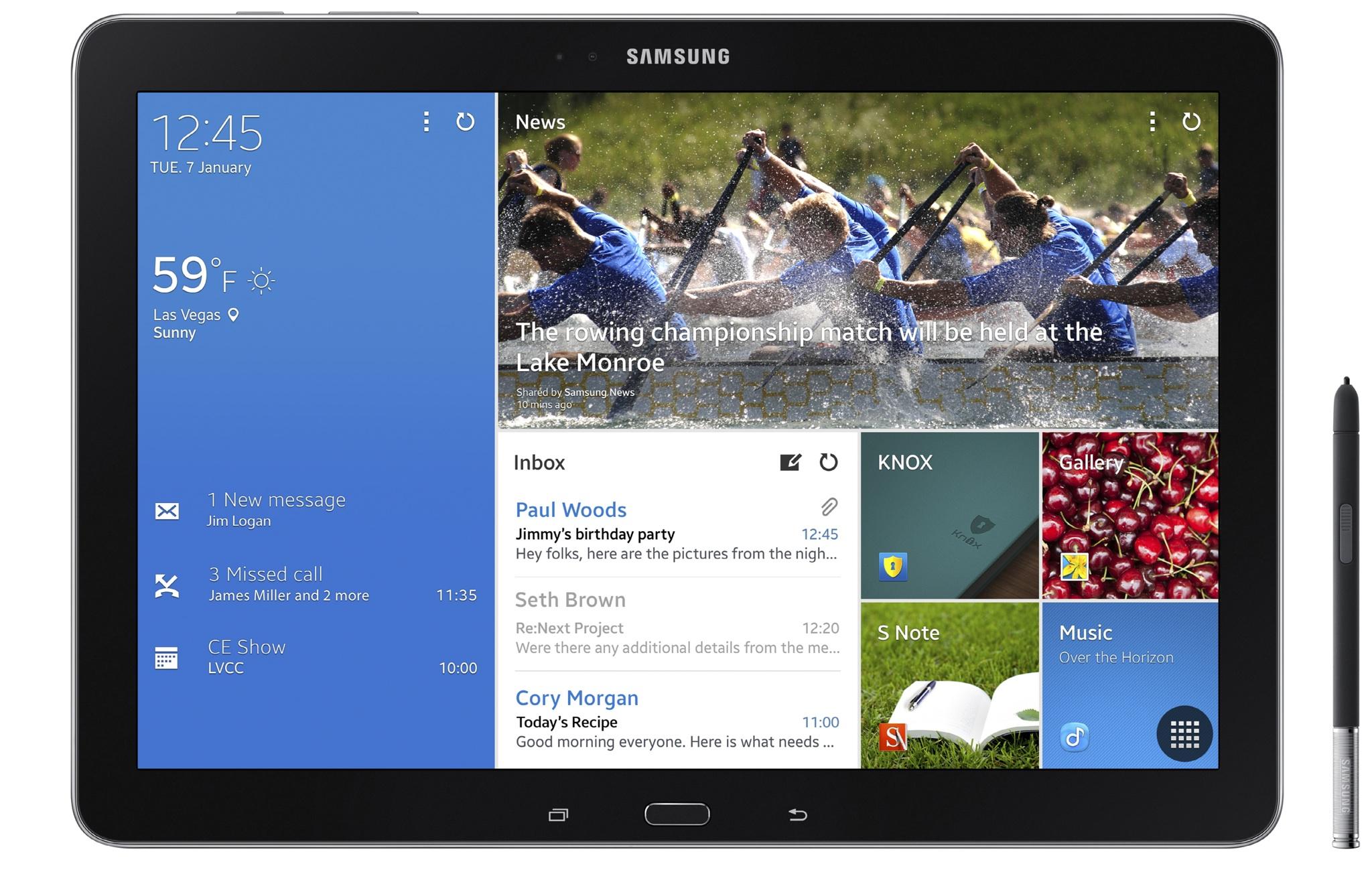 """Samsung Galaxy Note Pro 12.2 - tablet z 12,2"""" ekranem w przedsprzeda�y"""