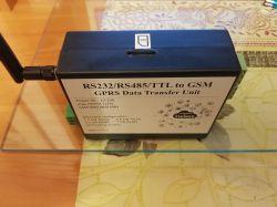 Moduł do transmisji RS232/RS485/TTL przez GSM.